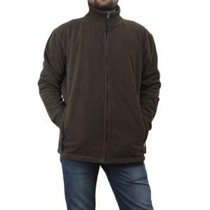 Midtown men's fleece zip up sweater Medium